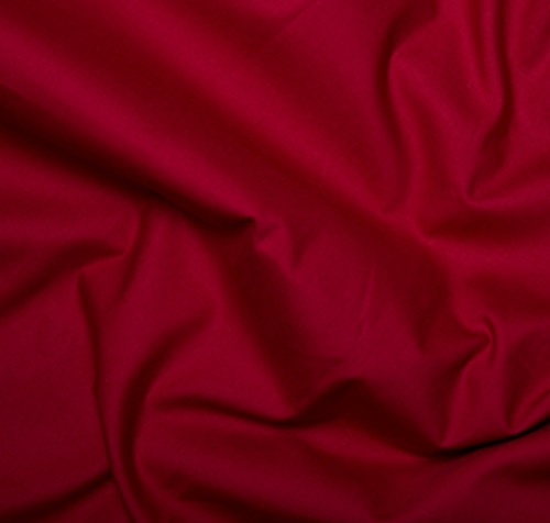 Rose & Hubble True Craft Cotton Claret No34  per 25cm