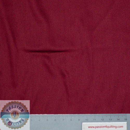 Burgundy Red Satin Sheen Cotten 300 thread count 118inch wide  per 25cm