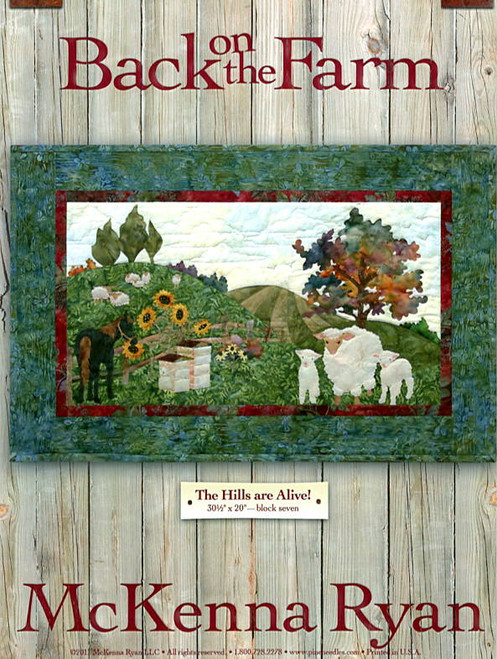 Back on the Farm The Hills are alive by McKenna Ryan