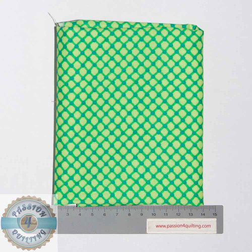 Green check- Fat Quarter