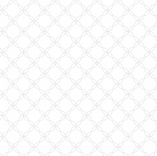 White on white  Lattice per 25cm