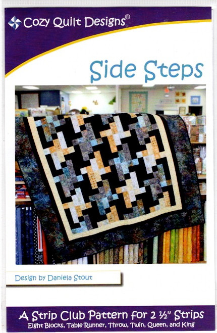 Side Steps  from Stripes Cozy Quilt Designs