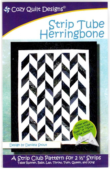Herringbone  from Stripes Cozy Quilt Designs