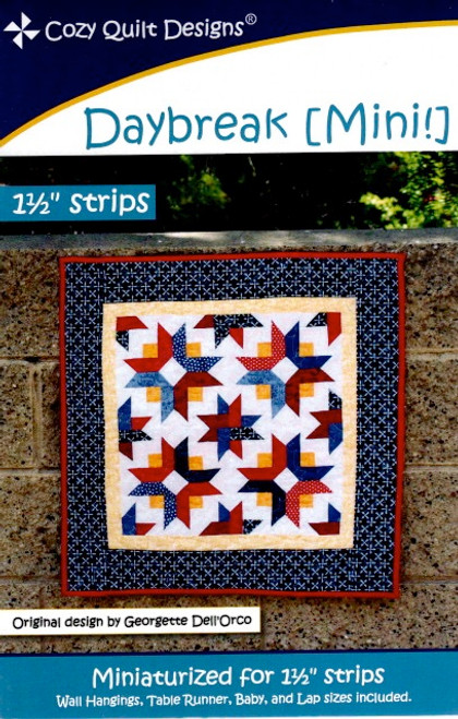 Daybreak (mini) from Stripes by Cozy Quilt Designs