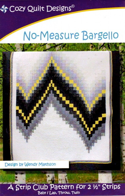 No Measure Bargello from Stripes by Cozy Quilt Designs