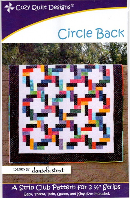 Circle Back from Stripes by Cozy Quilt Designs