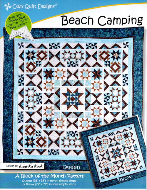 Beach Camping by Cozy Quilt Designs