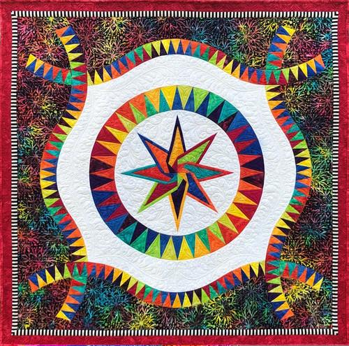 Festival quilt kit by Jacqueline de Jonge