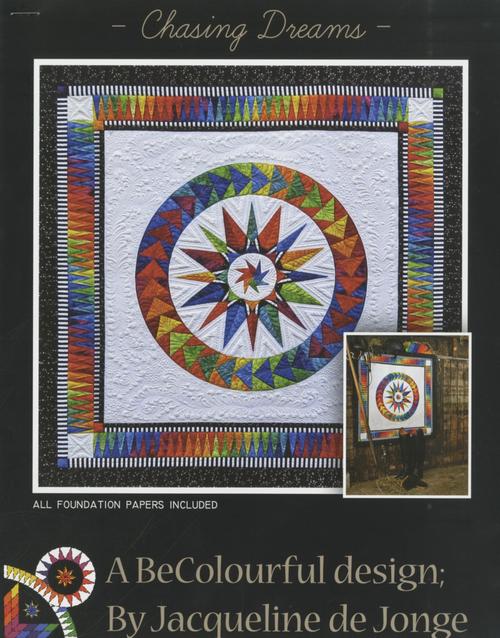 Chasing Dreams Quilt Kit. by Jacqueline de Jonge BC1502