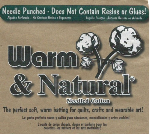 Warm and Natural Cotton Wadding--Batting 124 inch wide per 25cm
