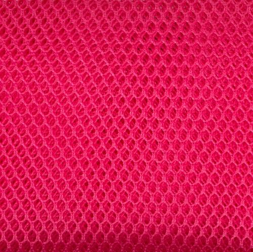 By Annie Mesh fabric Lipstick Pink
