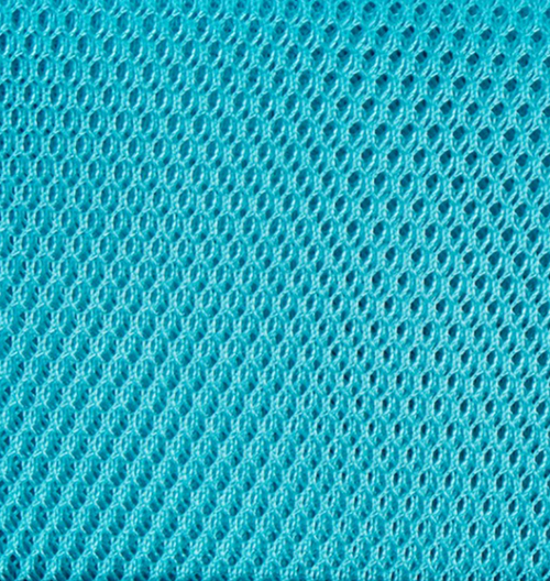 By Annie Mesh fabric Parrot Blue