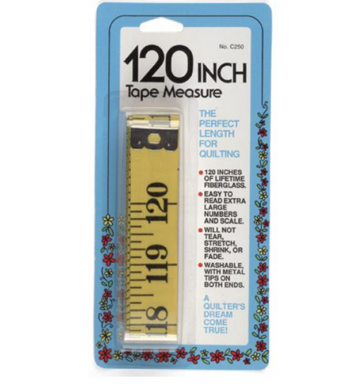 China Quilters Tape Measure 120 inches long China