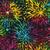394Q-x Multi Full Bloom Batik designed by Jacqueline de Jonge per 25cm
