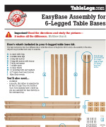 6 Legged Easybase Assembly
