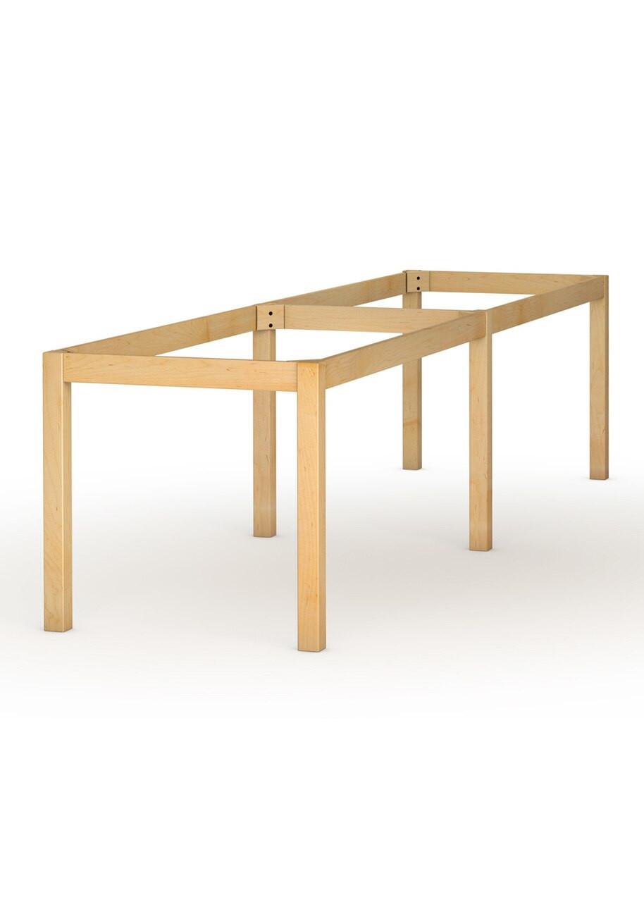 Foursquare 6 Legged Dining Table Base 29 Thin Leg Tablelegs Com