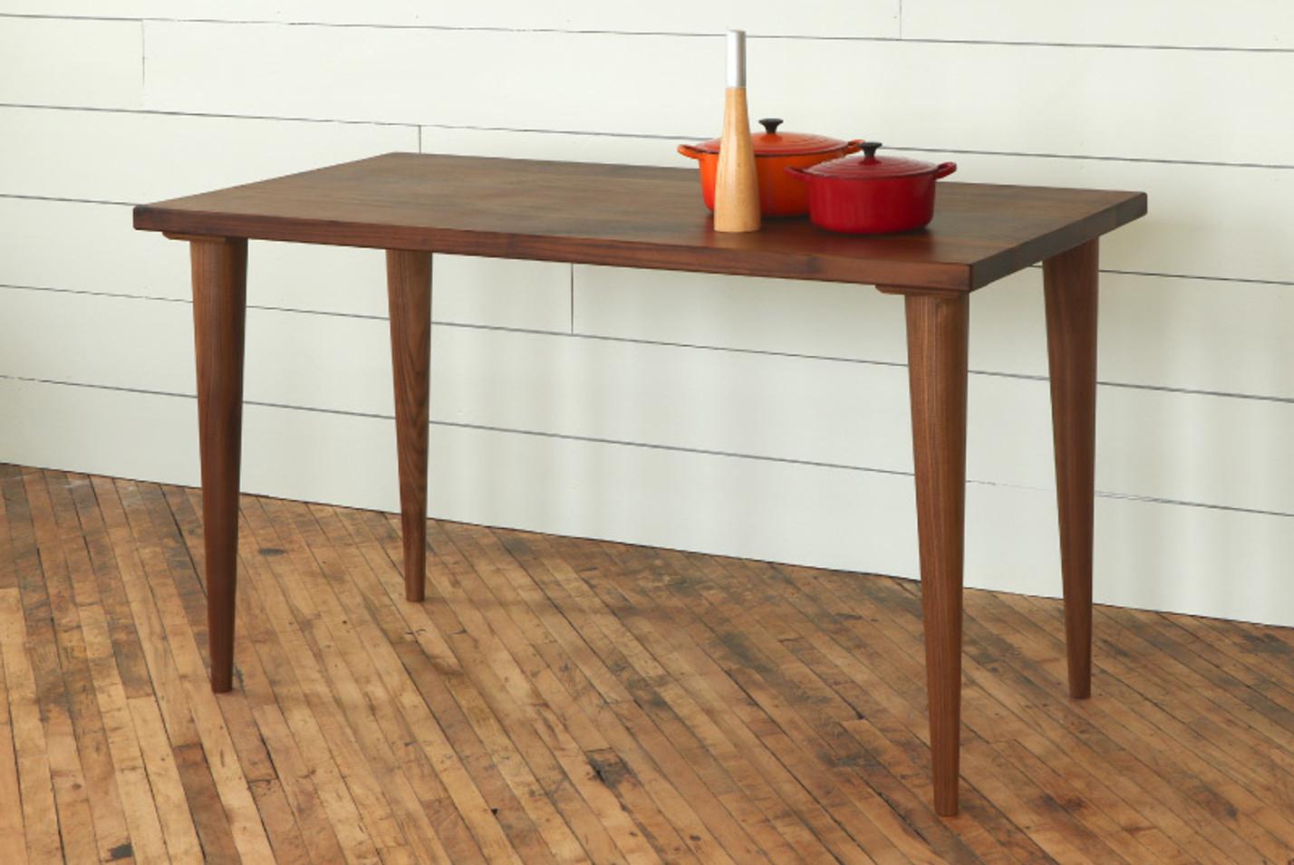 Mccobb Mid Century Modern Round Tapered Table Legs Tablelegs