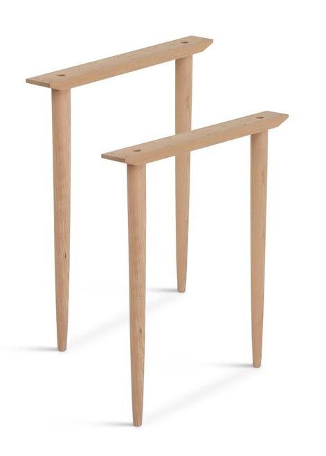 Wood Table Base Kits Custom Made In Usa Tablelegs Com