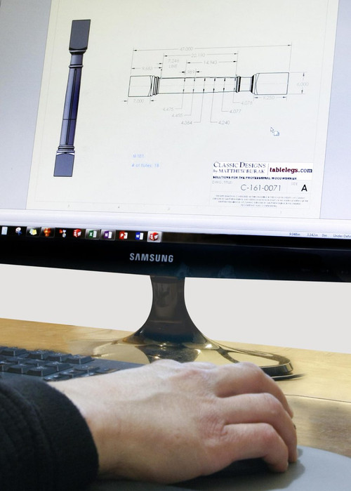 Custom Table Legs + Columns