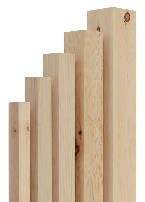 SET of 4  KNOTTY PINE WOODEN WHOLESALE PRICE TABLE LEGS