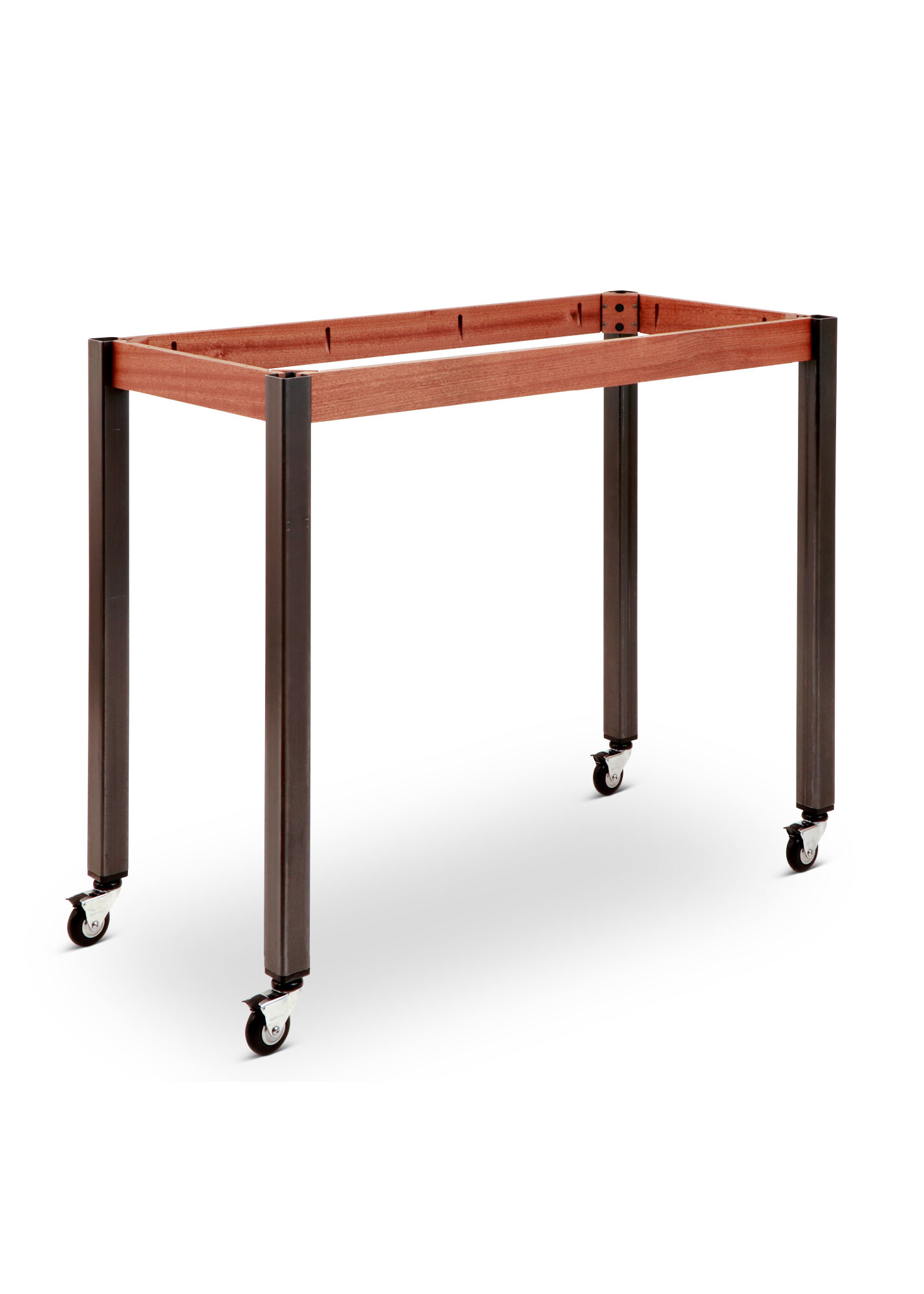 Pleasant Fusion Rolling Work Table Base 32 5 35 Or 39 5 Metal Legs Beutiful Home Inspiration Aditmahrainfo