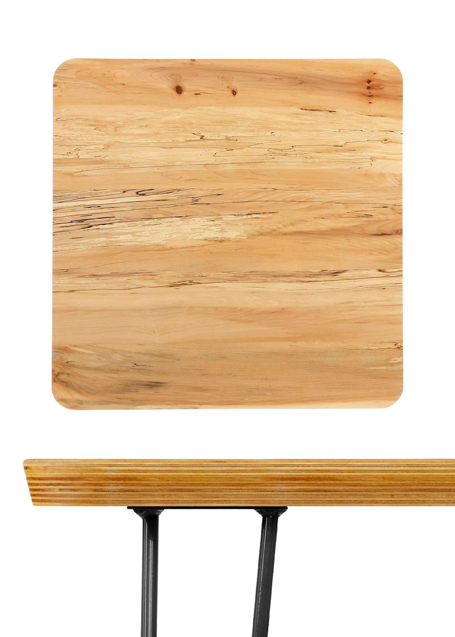 Clearance Stratoline 29 5 Square Table Top Spalted Maple