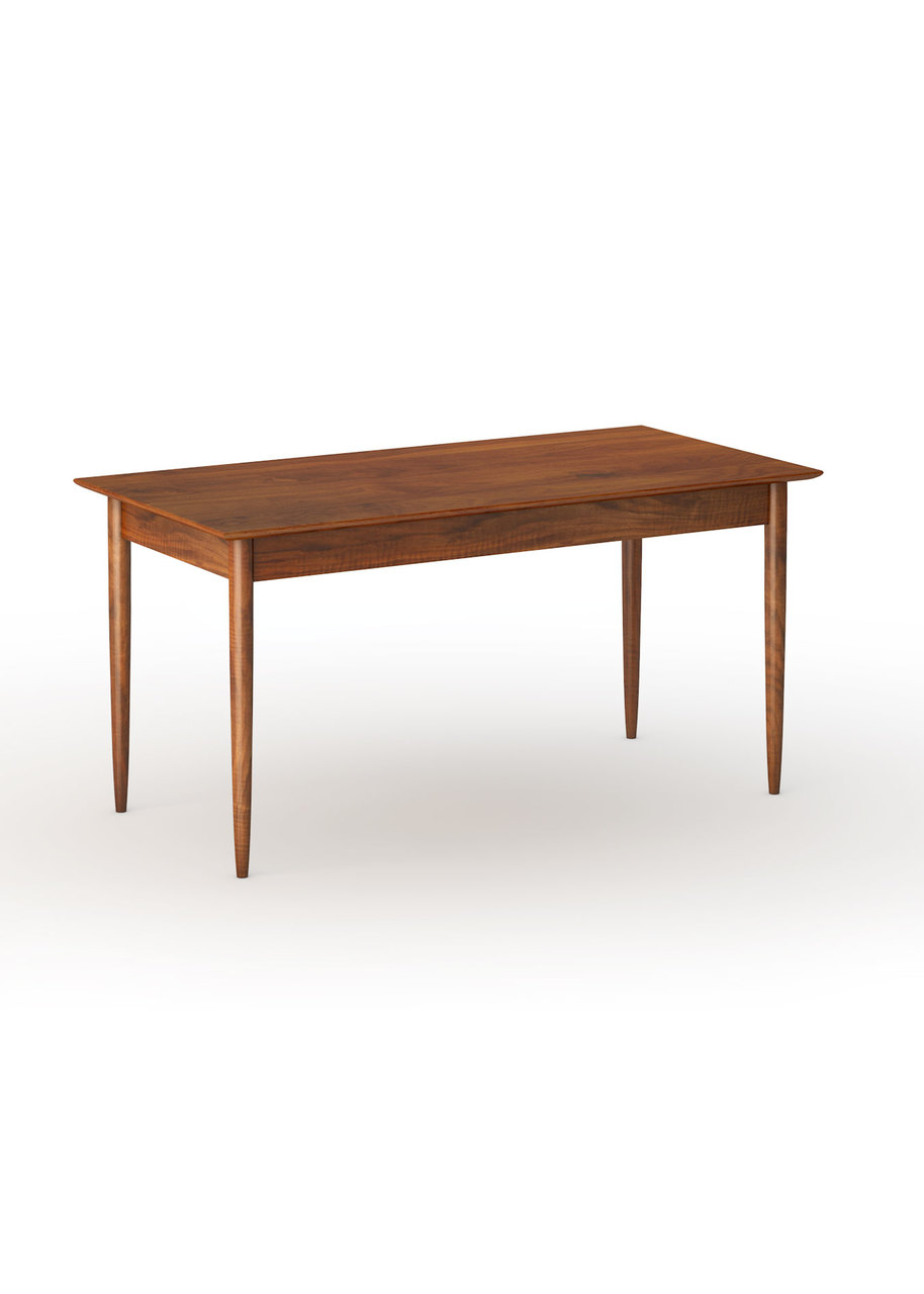 Wegner Danish Modern Dining Table With Aprons