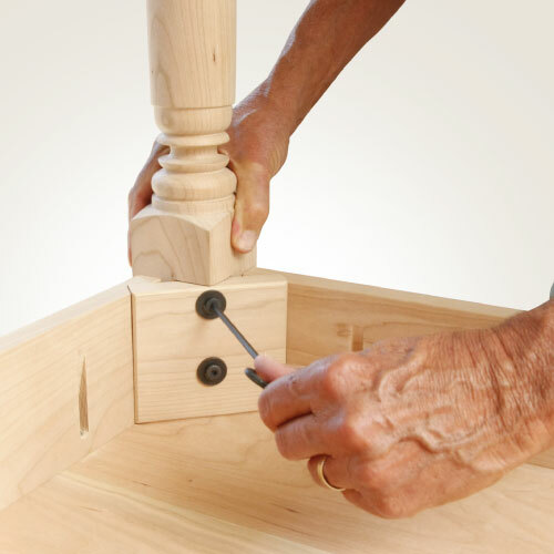 8 Easy Ways To Attach Table Legs - TableLegs.com