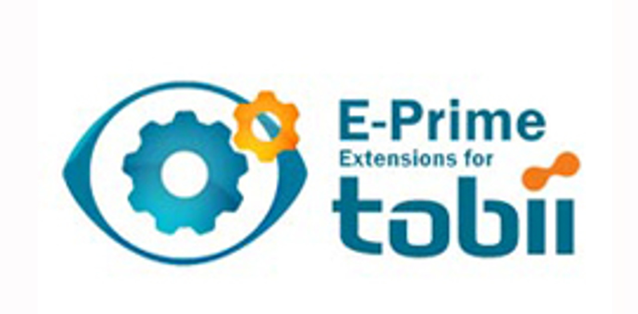 E-Prime® Extensions for Tobii combines the power of E-Prime with easy to use Tobii eye trackers. The E-Prime® Extensions for Tobii includes the script necessary to integrate E-Prime with Tobii eye tracking technology. E-Studio's graphical design interface allows users to drag and drop eye tracking functionality into existing E-Prime® experiments or to easily create new E-Prime® eye tracking experiments.