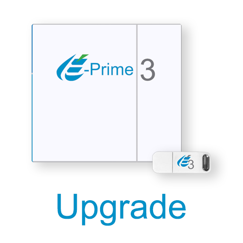 E-Prime 3.0 Single-User License - Upgrade Discount