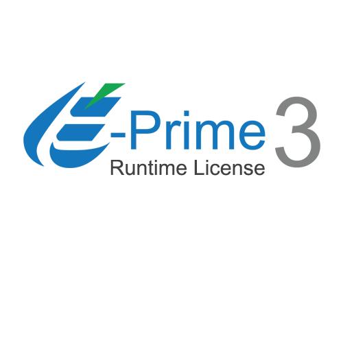 E-Prime 3.0 Runtime License