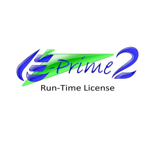 E-Prime 2.0 Run-Time License