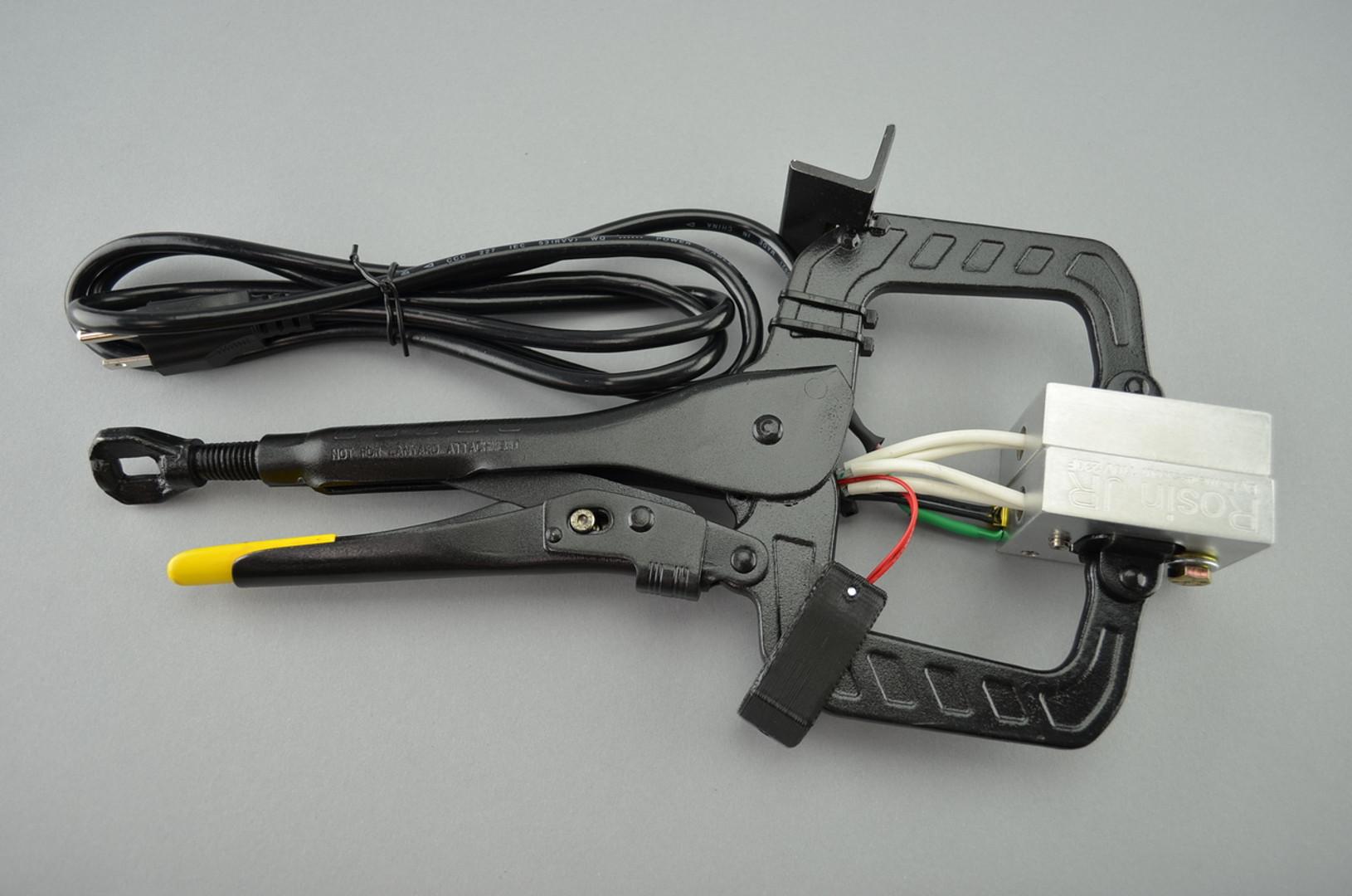 710 WHIP - Rosin JR Heavy-Duty Handheld Vice Grip Rosin Press