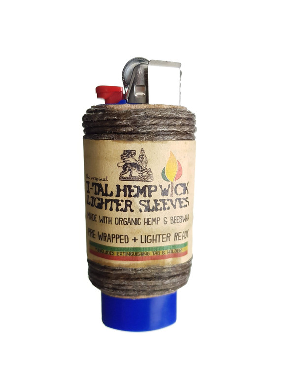 I-TAL - Hemp Wick Lighter Sleeve (16 ft.)