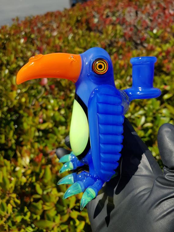 RJ - Penguin Bird Dab Rig w/ 14mm Female Joint