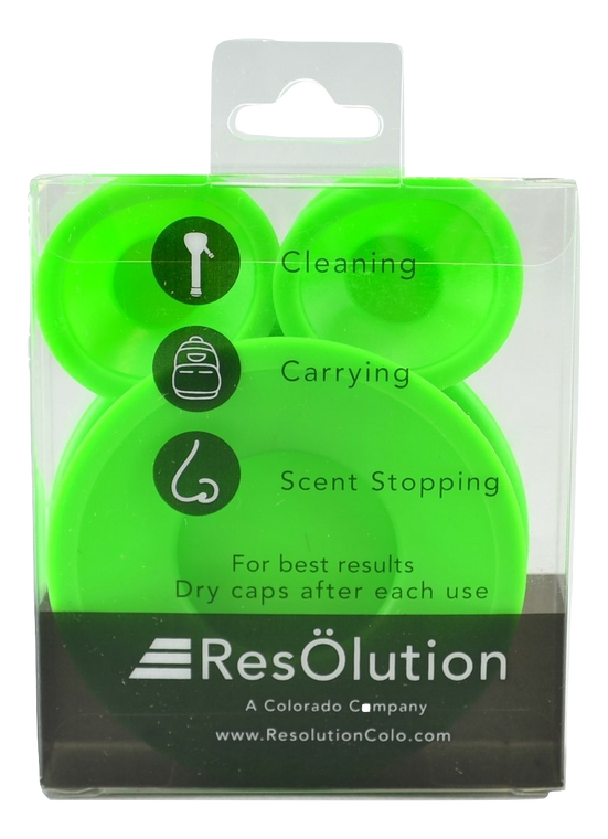 RESOLUTION - Silicone Cleaning Caps (Pick a Color)