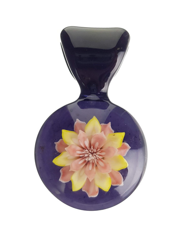 KIMMO - Glass Flower Pendant - #2
