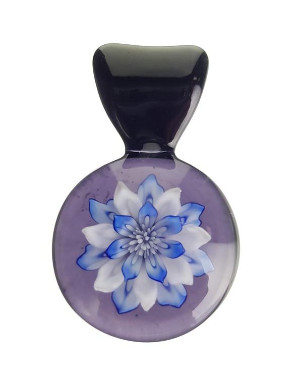 KIMMO - Glass Flower Pendant - #3