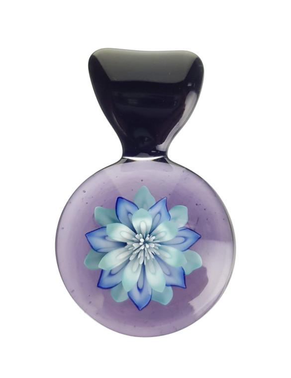 KIMMO - Glass Flower Pendant - #4