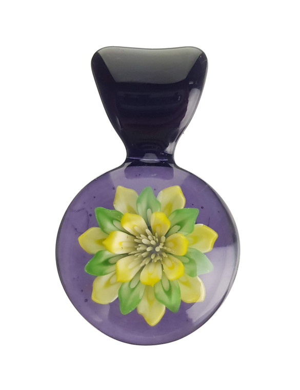 KIMMO - Glass Flower Pendant - #6