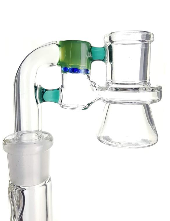 PULSAR - Mini Glass Ash Catcher w/ Color Accent (Pick Joint Size)