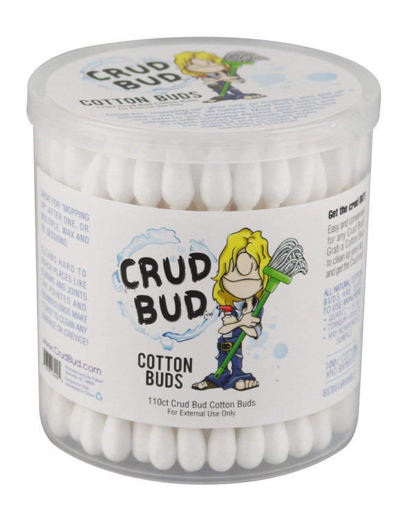 CRUD BUD - Dual Tip Cotton Swabs (110 Pack)
