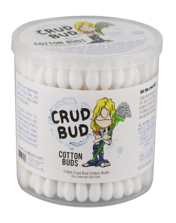 CRUD BUD - Dual Tip Cotton Swabs (110 Pack)