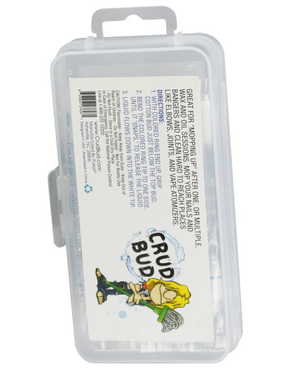 CRUD BUD - Alcohol Filled Cotton Swabs (30 Pack)