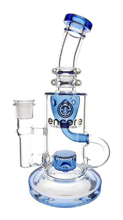 ENCORE - Klein Incycler Rig w/ 14mm Female Joint - Blue