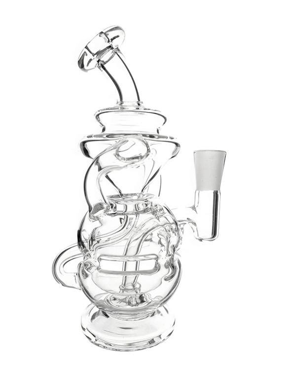 MJ ARSENAL - Infinity Mini Egg Recycler Rig w/ Mini Quartz Banger