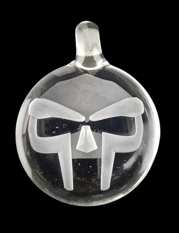 THINKBORO - Heady Glass Pendant w/ 3D Design - MF Doom