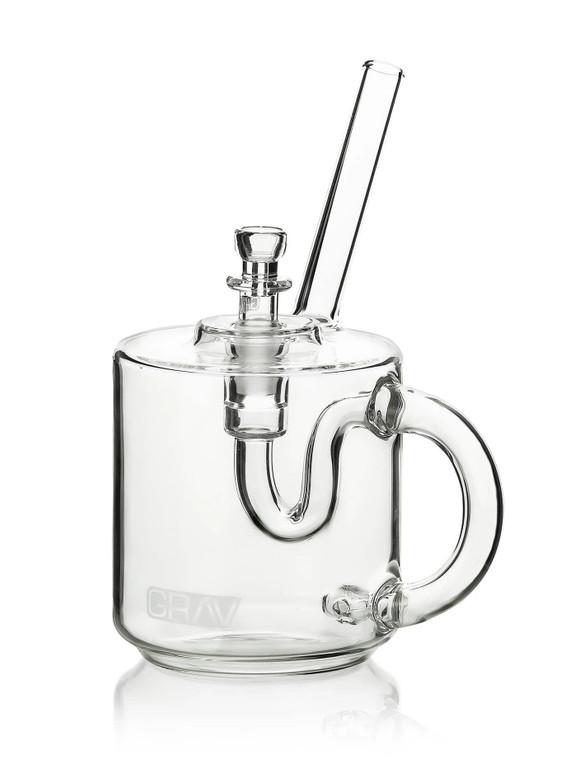 GRAV - Glass Coffee Mug Bubbler w/ 14mm Slide