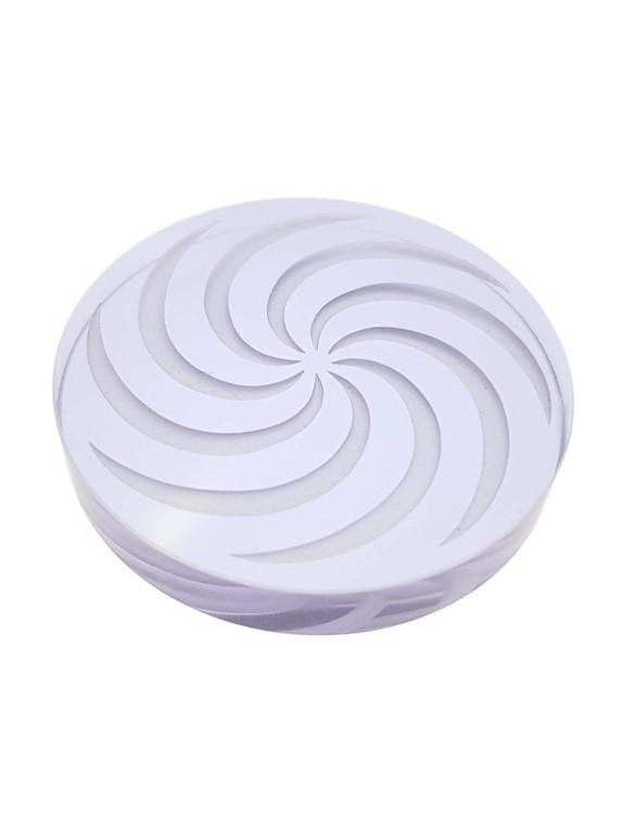 D-NAIL - Boro Channel Spinner Cap w/ Vortex Design - Blue/Purple (CFL)