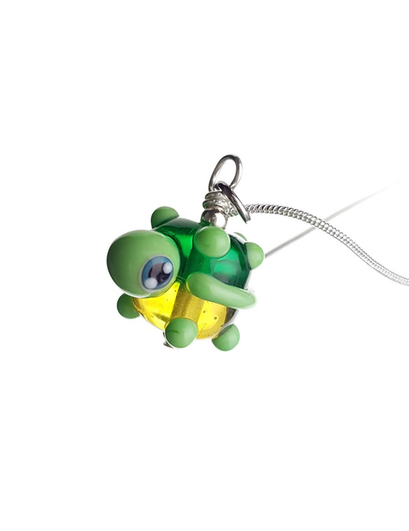 CUTE GLASS - Unnamed Turtle Masses Pendant - Classic Collection